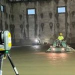 Trimble X7 Laser Concrete Scan in Progress